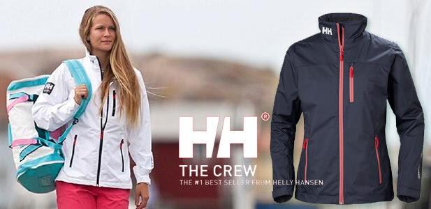 f20586d215 Most bemutatjuk neked a Helly Hansen egyik legkedveltebb eső- és  viharkabátját. A Helly Hansen Crew kabátot a tenger szerelmeseinek álmodták  meg.